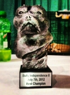 Bully Independence II Best Champion Trophy